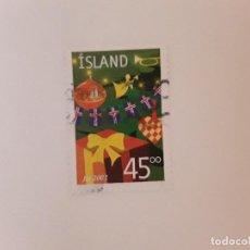 Sellos: AÑO 2002 ISLANDIA SELLO USADO. Lote 266842069