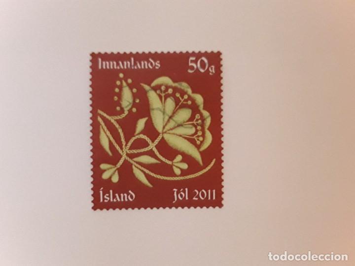 AÑO 2011 ISLANDIA SELLO USADO (Sellos - Extranjero - Europa - Islandia)