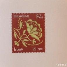 Sellos: AÑO 2011 ISLANDIA SELLO USADO. Lote 266842099