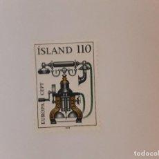 Selos: ISLANDIA SELLO USADO. Lote 266842754