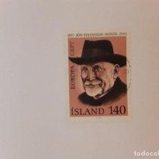 Sellos: ISLANDIA SELLO USADO. Lote 266842784