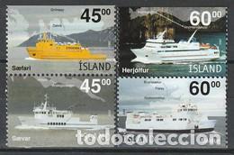 SELLOS NUEVOS DE ISLANDIA 2003, YT 962/ 65 (Sellos - Extranjero - Europa - Islandia)