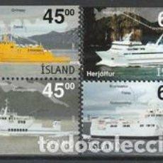 Sellos: SELLOS NUEVOS DE ISLANDIA 2003, YT 962/ 65. Lote 267320514