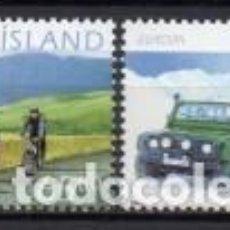 Sellos: SELLOS NUEVOS DE ISLANDIA 2004, YT 994/ 95. Lote 267320754