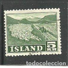 Sellos: ISLANDIA 1950 - YVERT NRO. 233- USADO. Lote 268897879