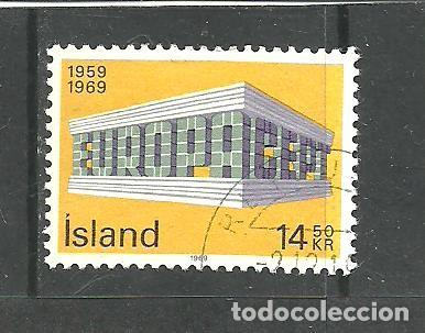 ISLANDIA 1969 - YVERT NRO. 384- USADO (Sellos - Extranjero - Europa - Islandia)