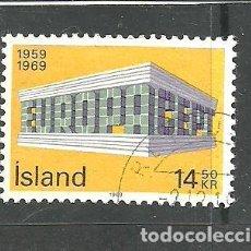 Sellos: ISLANDIA 1969 - YVERT NRO. 384- USADO. Lote 268897994