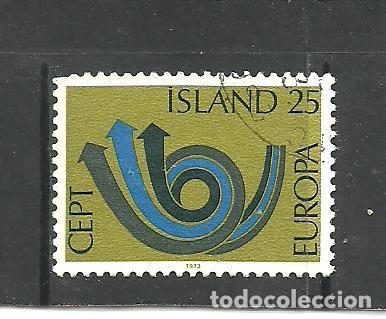 ISLANDIA 1973 - YVERT NRO. 425 - USADO (Sellos - Extranjero - Europa - Islandia)