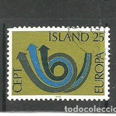 Sellos: ISLANDIA 1973 - YVERT NRO. 425 - USADO. Lote 268898154