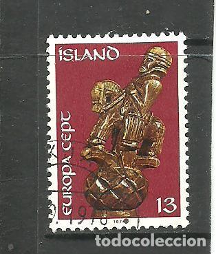ISLANDIA 1974 - YVERT NRO. 442- USADO (Sellos - Extranjero - Europa - Islandia)