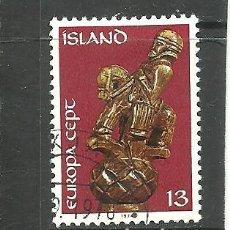 Sellos: ISLANDIA 1974 - YVERT NRO. 442- USADO. Lote 268898184