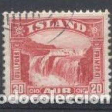 Sellos: ISLANDIA, 1950/57, USADO, CHARNELA. Lote 269166468