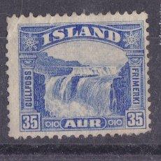 Sellos: FC3-128- ISLANDIA YT 141 (*). Lote 272278583