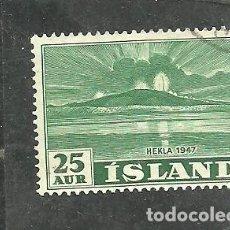 Sellos: ISLANDIA 1948 - YVERT NRO. 209 - USADO. Lote 275201813