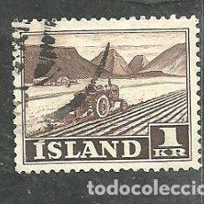 Timbres: ISLANDIA 1950 - YVERT NRO. 229 - USADO. Lote 275202028