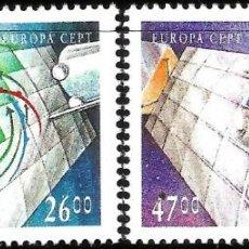 Sellos: EUROPA C.E.P.T. 1991 - EUROPA Y EL ESPACIO - ISLANDIA. Lote 275622283