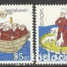 Sellos: SELLOS NUEVOS DE ISLANDIA 1994, YT 753/ 54. Lote 276393993