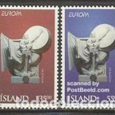 Sellos: SELLOS NUEVOS DE ISLANDIA 1994, YT 777/ 78. Lote 276395128
