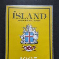 Sellos: SELLOS OFERTA CARPETA OFICIAL ISLANDIA AÑO 1985 EN NUEVO VER FOTOGRAFÍAS. Lote 283675383
