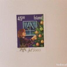 Sellos: AÑO 2003 ISLANDIA SELLO USADO. Lote 287841388