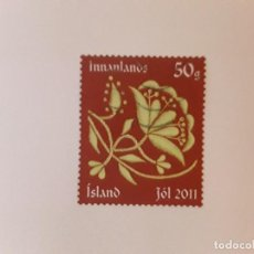 Sellos: AÑO 2011 ISLANDIA SELLO USADO. Lote 291174088