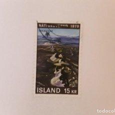 Sellos: AÑO 1970 ISLANDIA SELLO USADO. Lote 295785848