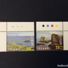 Sellos: ISLANDIA Nº YVERT 866/7*** AÑO 1999. EUROPA. Lote 296057243