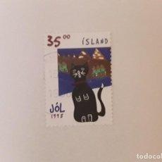 Sellos: AÑO 1998 ISLANDIA SELLO USADO. Lote 297013843