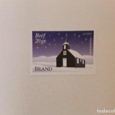 Sellos: AÑO 2001 ISLANDIA SELLO USADO. Lote 297013928