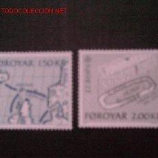 Sellos: FEROE Nº YVERT 64/5. AÑO 1982. Lote 567460