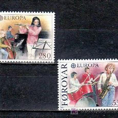 Sellos: FEROE 110/1 SIN CHARNELA, TEMA EUROPA 1985, AÑO EUROPEO DE LA MUSICA,. Lote 10390497