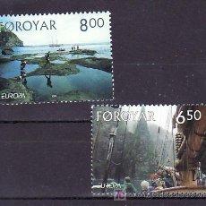 Sellos: FEROE 493/4 SIN CHARNELA, TEMA EUROPA 2004, VACACIONES, . Lote 10528820