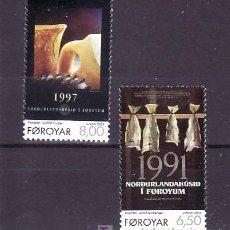 Sellos: FEROE 444/5 SIN CHARNELA, TEMA EUROPA 2003, ARTE DEL CARTEL, . Lote 10528835
