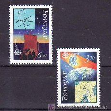 Sellos: FEROE 211/2 SIN CHARNELA, TEMA EUROAPA 1991, EUROPA Y EL ESPACIO, . Lote 10529253