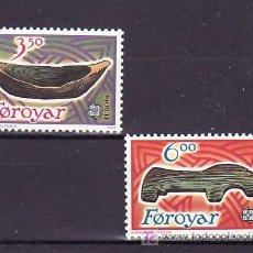 Sellos: FEROE 176/7 SIN CHARNELA, TEMA EUROPA 1989, JUEGOS INFANTILES, . Lote 10529420