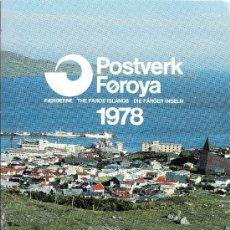 Sellos: FEROE AÑO 1978 COMPLETO*** (VER FOTOS). Lote 26752010