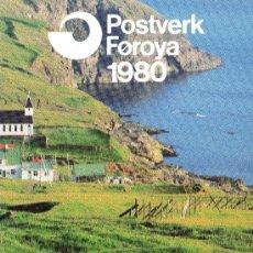 Sellos: FEROE AÑO 1980 COMPLETO*** (VER FOTOS). Lote 26752012