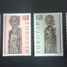 Sellos: SELLOS DE FEROE (DINAMARCA). YVERT 49/52. SERIE COMPLETA NUEVA SIN CHARNELA.. Lote 53159869