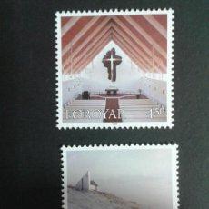 Sellos: SELLOS DE FEROE (DINAMARCA). YVERT 342/3. SERIE COMPLETA NUEVA SIN CHARNELA.. Lote 53159903