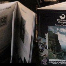 Sellos: ISLAS FEROE LIBRO ANUARIO 1989 INCLUYE SELLOS - CEPT EUROPA- TRAJES TIPICOS- FUTBOL- ARTESANIA . Lote 55135201