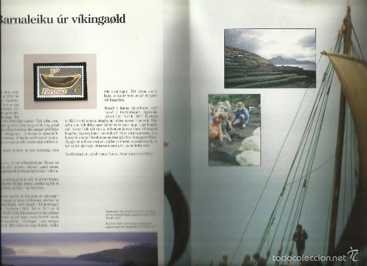 Sellos: ISLAS FEROE LIBRO ANUARIO 1989 INCLUYE SELLOS - CEPT EUROPA- TRAJES TIPICOS- FUTBOL- ARTESANIA - Foto 4 - 55135201