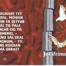 Sellos: 412MH CARNET CON 6 SELLOS DE LAS ISLAS FEROE DEL AÑO 2001 DE NAVIDAD- CHRISTMAS . Lote 61344991