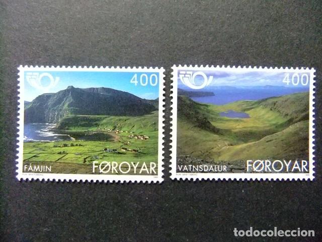 FÉROÉ FOROYAR 1995 TURISMO YVERT Nº 274 / 275 ** MNH (Sellos - Extranjero - Europa - Islas Feroe)