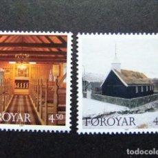 Sellos: FÉROÉ FOROYAR 1997 NAVIDAD NOEL YVERT Nº 322 / 323 ** MNH. Lote 64932023