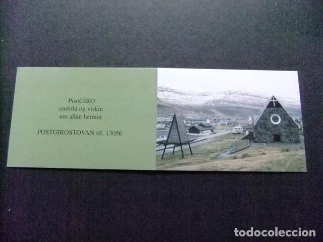 FÉROÉ FOROYAR 1996 L´ÉGLISE DE CHRISTIAN À KLAKSVIK YVERT Nº CARNET C 304 ** MNH (Sellos - Extranjero - Europa - Islas Feroe)