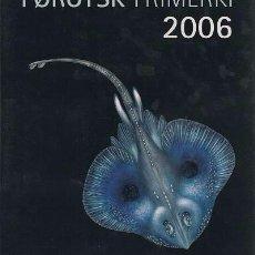 Sellos: (CF) ISLAS FEROE 2006, LIBRO AÑO COMPLETO (**). Lote 71286763
