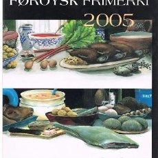 Sellos: (CF) ISLAS FEROE 2005, LIBRO AÑO COMPLETO (**). Lote 71288963