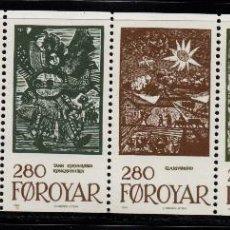 Sellos: FEROE 100/05** - AÑO 1984 - CUENTOS DE HADAS. Lote 76201719