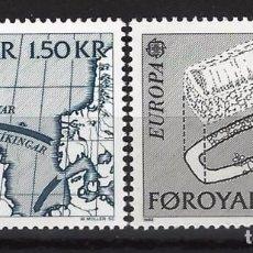 Sellos: ISLAS FEROE 1982 - SET COMPLETO - SELLOS NUEVOS. Lote 110022322