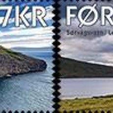 Sellos: FAROES ISLANDS 2017 - SØRVÁGSVATN / LEITISVATN- (SET MINT). Lote 95322223